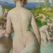 The Bathers Print by William Mulready