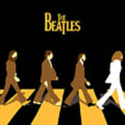 The Beatles No.19 Print by Caio Caldas