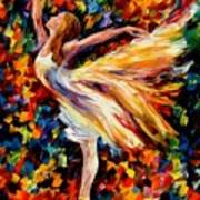 The Beauty Of Dance Print by Leonid Afremov
