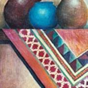 The Blue Jar IIi Print by Jun Jamosmos