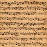 The Brandenburger Concertos Print by Johann Sebastian Bach