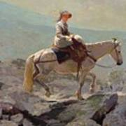 The Bridal Path Print by Winslow Homer