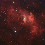 The Bubble Nebula Print by Charles Warren