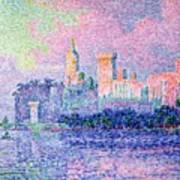 The Chateau Des Papes Print by Paul Signac