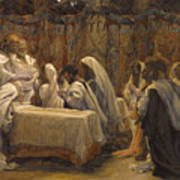 The Communion Of The Apostles Print by Tissot