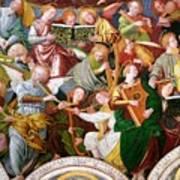 The Concert Of Angels Print by Gaudenzio Ferrari