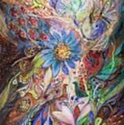 The Dance Of Light Print by Elena Kotliarker