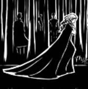 the Dark Forest Print by Rachel H White