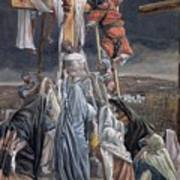 The Descent From The Cross Print by Tissot