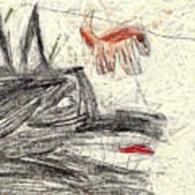 The Dog Portrait Print by Odon Czintos