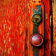 The Door Handle  Print by Tara Turner