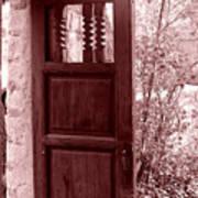 The Door Print by Wayne Potrafka
