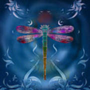 The Dragonfly Effect Print by Bedros Awak