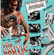 The Exotic Ones, Aka The Monster And Print by Everett
