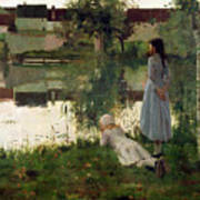 The Ferry Print by William Stott