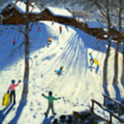 The Footbridge Print by Andrew Macara