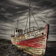 The Ghost Ship Print by Evelina Kremsdorf