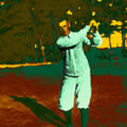 The Golfer - 20130208 Print by Wingsdomain Art and Photography