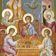 The Holy Trinity Print by Julia Bridget Hayes