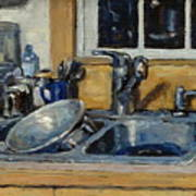 The Kitchen Sink Print by Thor Wickstrom