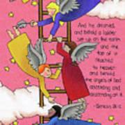 The Ladder Print by Sarah Batalka