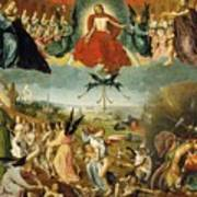 The Last Judgement Print by Jan II Provost