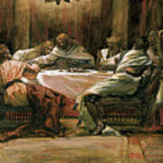 The Last Supper Print by Tissot
