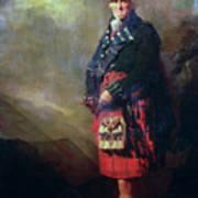 The Macnab Print by Sir Henry Raeburn