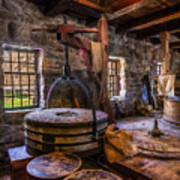 The Milling Room Print by Mark Papke