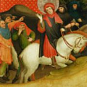 The Mocking Of Saint Thomas Print by Master Francke