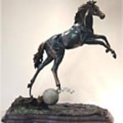 The Moonhorse Bronze Print by Dawn Senior-Trask