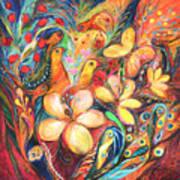 The Orange Wind Print by Elena Kotliarker