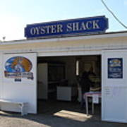 The Oyster Shack At Drakes Bay Oyster Company In Point Reyes California . 7d9832 Print by Wingsdomain Art and Photography