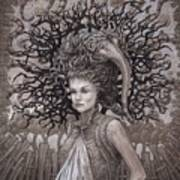 The Ravenous Pregnancy Print by Ethan Harris