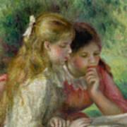 The Reading Print by Pierre Auguste Renoir