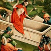 The Resurrection Print by Johann Koerbecke