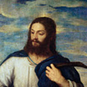 The Savior Print by Titian