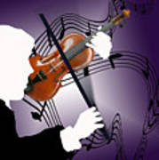 The Soloist Print by Steve Karol