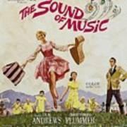 The Sound Of Music, Poster Art, Julie Print by Everett