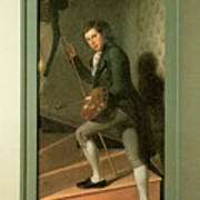 The Staircase Group Print by Charles Wilson Peale