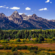 The Tetons II Print by Robert Bales