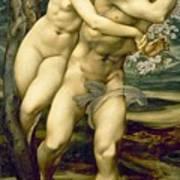 The Tree Of Forgiveness Print by Sir Edward Burne-Jones