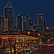 The Varsity Atlanta Print by Corky Willis Atlanta Photography