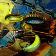 The Wheelwork Of Antikythera  Print by Anne Weirich