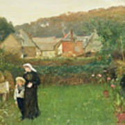 The Widow Print by Charles Napier Hemy