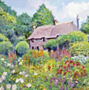Thomas Hardy House Print by David Lloyd Glover