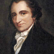 Thomas Paine, American Founding Father Print by Photo Researchers