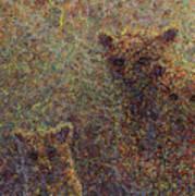 Three Bears Print by James W Johnson