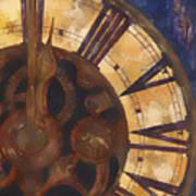 Time Askew Print by Barb Pearson