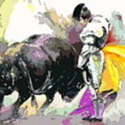 Toroscape 39 Print by Miki De Goodaboom